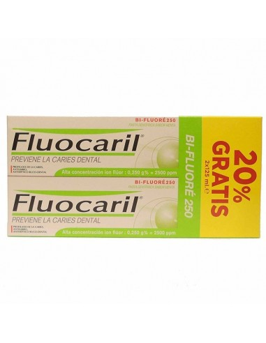 FLUOCARIL BI-FLUORE PASTA 2X125ML